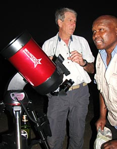 astronomy in the wilderness